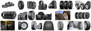 Foto de varias marcas de Neumáticos a domicilio en Barcelona