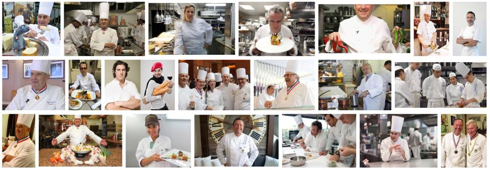 Foto de un chef en una cocina a domicilio en Barcelona