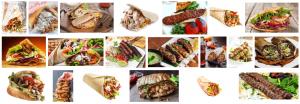 Un Kebab de pollo con ternera te espera en tu domicilio en Barcelona
