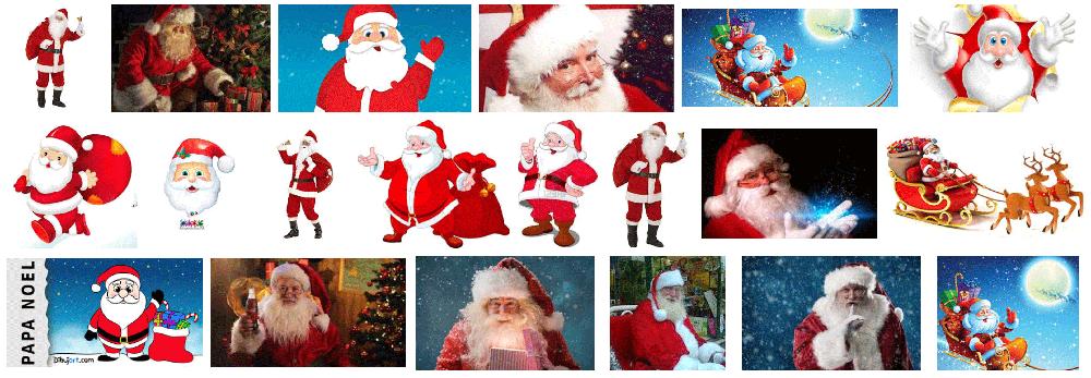 Fotos del rojo Papa Noel a domicilio en Barcelona regalando sorpresas.