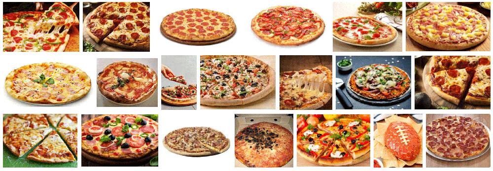 Foto de una Pizza a domicilio en la ciudad de Barcelona elaborada con ingredientes naturales