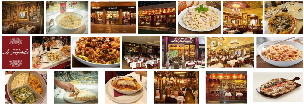 Foto del restaurante barcelonés Tagliatella a domicilio en Barcelona