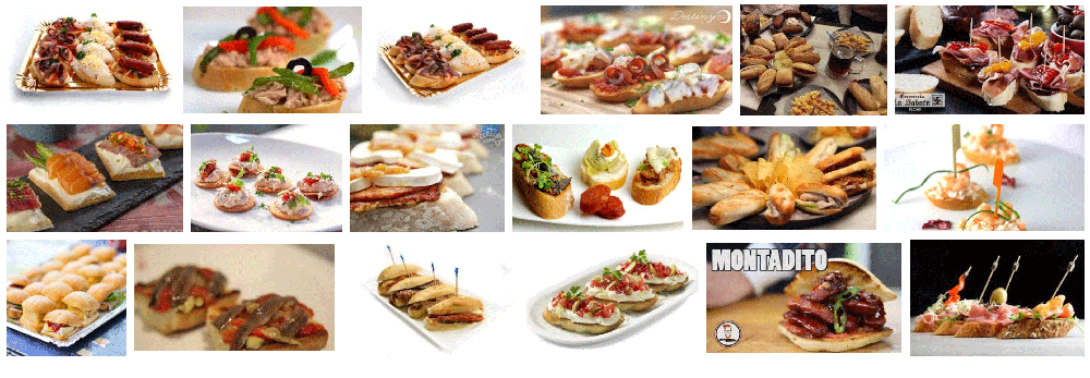 100 MONTADITOS HOME DELIVERY BARCELONA