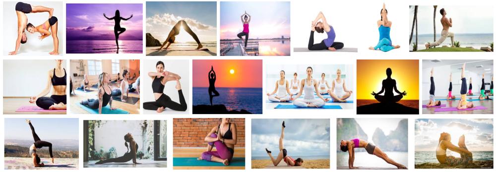 Foto de gente haciendo Yoga a domicilio en Barcelona