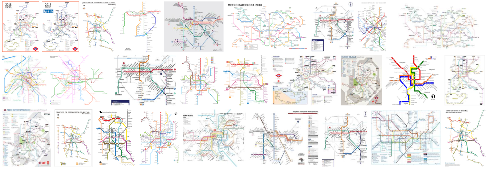 TUBE MAPS HOME DELIVERY BARCELONA