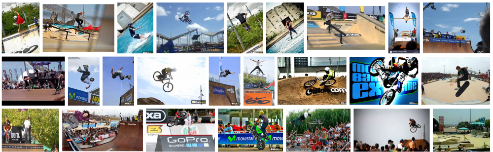 Fotos de deportistas en la Movistar Barcelona Extreme Sports