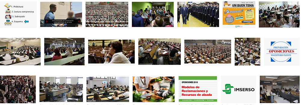 Foto de Preparadores de oposiciones a domicilio en Barcelona ayudando a aprobar exámenes